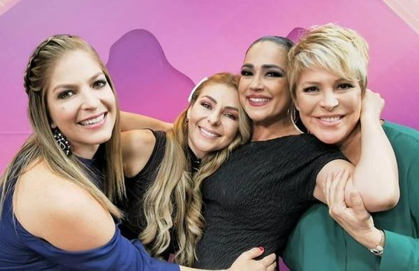 En marzo de 2019 inició el programa Divas pero divinas, como se llamaba antes, con Viviana Calderón, Glenda Peraza, Maureen Salguero y Cristiana Nassar. Archivo