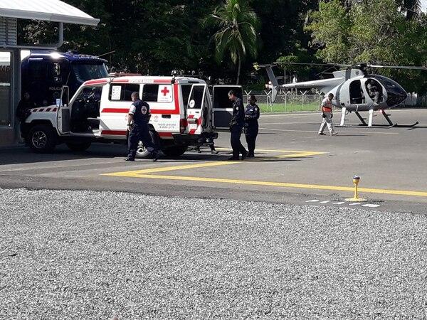 El OIJ y la Fuerza Pública si realizaron un operativo en Osa pero nada tenía que ver con una banda. Foto Alfonso Quesada/Archivo.