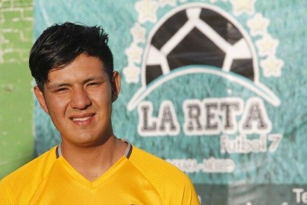 Dionicio hasta daba charlas de motivación, autógrafos y se tomaba fotos con aficionados. Tomada de www.ole.com.ar