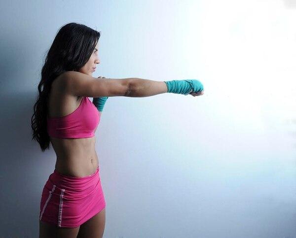 Yokasta está en el mundo del boxeo desde hace 9 años. Archivo GN.
