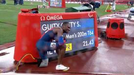 ¡Histórico! Sherman Guity es campeón paralímpico y volvió a establecer un nuevo récord