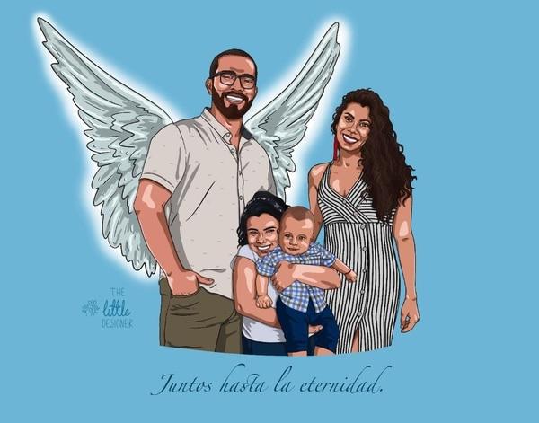 Sofía Aguilar logró levantar anímicamente a su familia luego de la muerte de su padre. Foto Cortesía