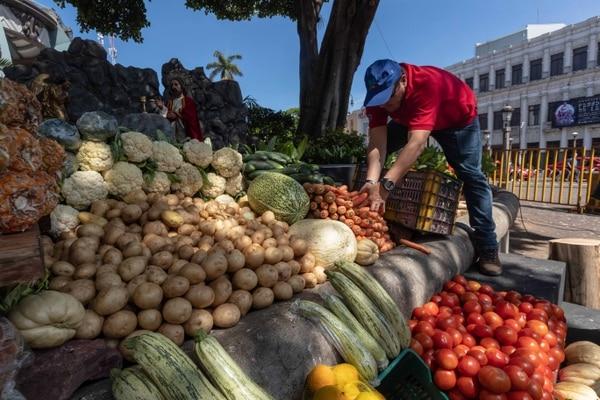 Trabajadores de la Municipalidad de San José recogieron los alimentos para donarlo a las instituciones seleccionadas. José Cordero.