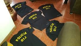 Polis municipales de Escazú logran capturar a cuatro hombres que se hacían pasar por OIJ y PCD