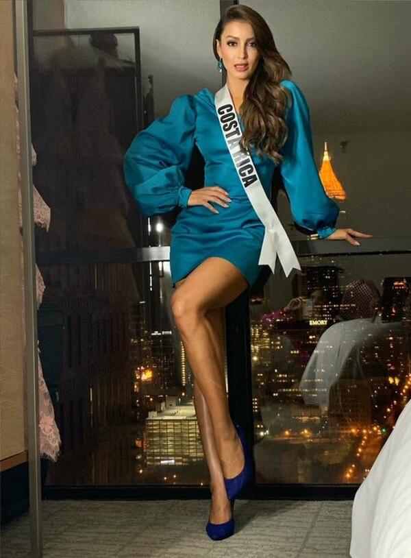 Paola Chacón fue un momento gris de Miss Universo. Facebook.