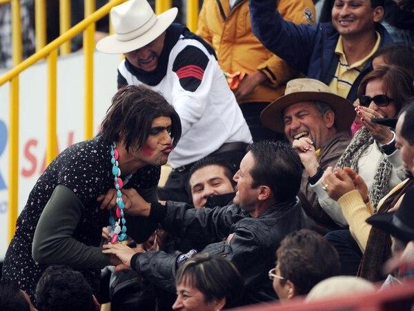 Desde 1995 Laisa ha estado cerca de las corridas de toros. Foto: Grupo Nación.