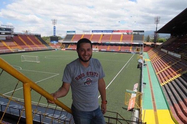 Pedro visitó el Morera Soto en el 2015. Cortesía.