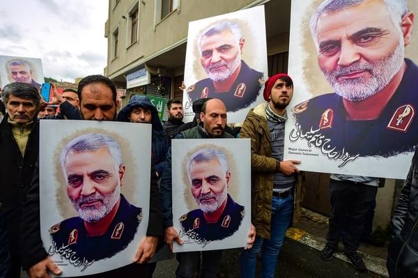 Qasem Soleimani era un fuerte enemigo de Estados Unidos. AFP