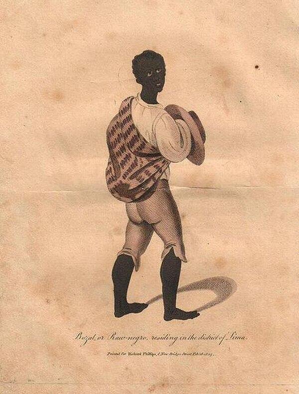 Los negros bozales eran lo que no conocían el idioma castellano ni las costumbres por lo que los marginaban al grado de ni siquiera considerarlos humanos. Foto tomada del Facebook Negros bozales, ladinos y cimarrones.