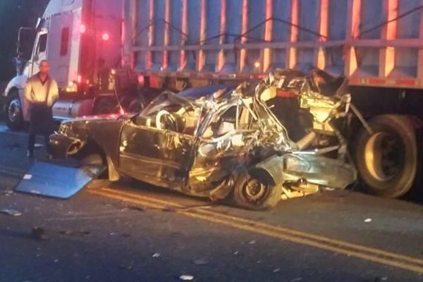 Cinco muertos por accidentes de tránsito en 16 horas