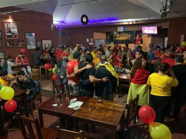Por dicha son poquitos, pero bien fiesteros y campeones. Foto: Cortesía Orlando Moreira