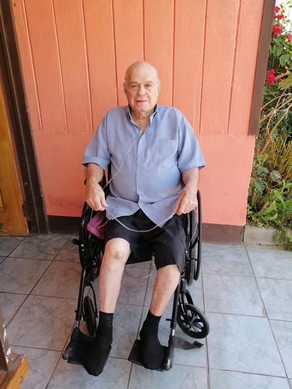 El señor de los cielos ya está de vuelta en su casa, en Santa Ana. Foto: CCSS.