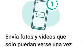 WhatsApp ya permite que los videos y fotos puedan autodestruirse luego de que sean vistos