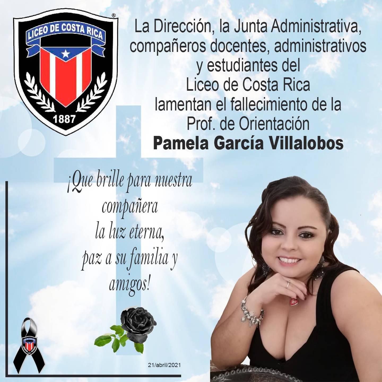 Una profesora de Orientación del Liceo de Costa Rica murió a consecuencia del covid-19 y otros cinco educadores de esa institución resultaron positivos al virus.