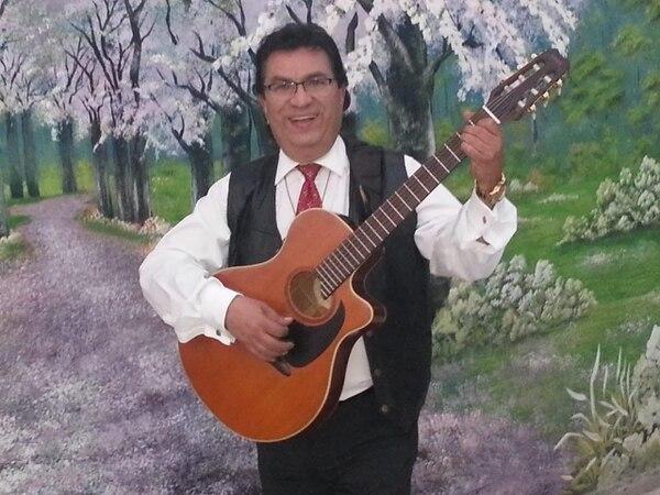 Alexis Gamboa, músico y líder de Pura Vida. Cortesía.