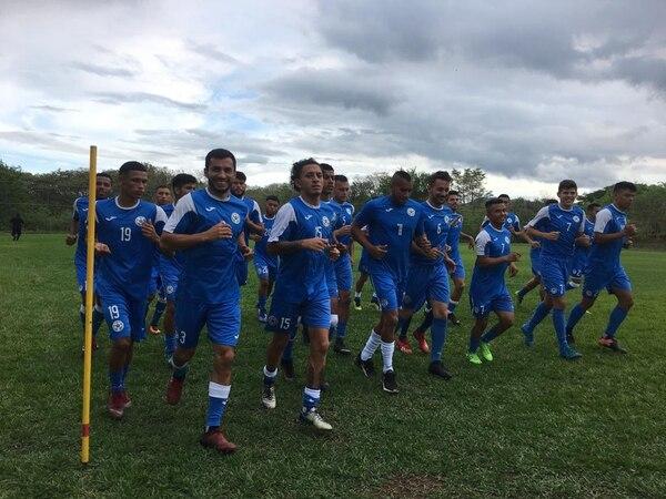 La selección pinolera se prepara más fuerte que nunca para abrir con triunfo ante Costa Rica en la Copa Oro. Foto: Cortesía FutbolNica