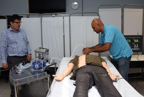 La UCR está cerca de comenzar a producir respiradores efectivos y de bajo costo. Foto cortesía UCR.