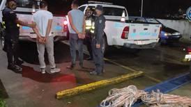 Capturan a hermanos sospechosos de robar 700 metros de cable de cobre en San Carlos
