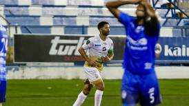 Álvaro Saborío volvió a darle otra alegría a San Carlos