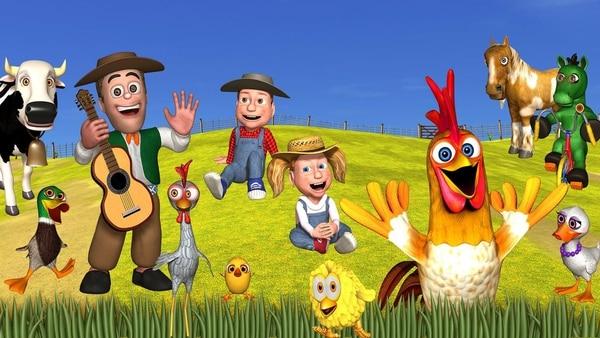 La Granja de Zenón forma parte del Reino Infantil, el canal de YouTube número uno de canciones infantiles en español. Cortesía.