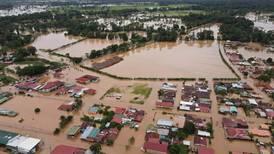 Aguaceros e inundaciones golpean zona norte y la elevan a alerta roja