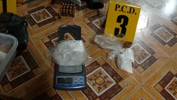 Los bichos se preocupaban por pesar muy bien la droga antes de distribuirla. FOTO: MSP.