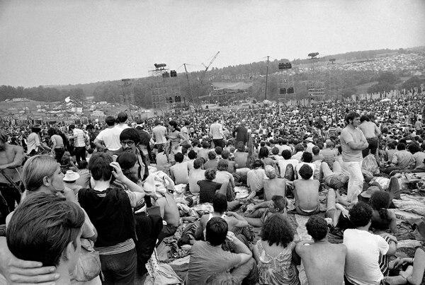 Woodstock fue un festival que marcó a una generación. AP