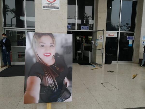 Luany Valeria Salazar, tenía 23 años. Foto: K. Calderón