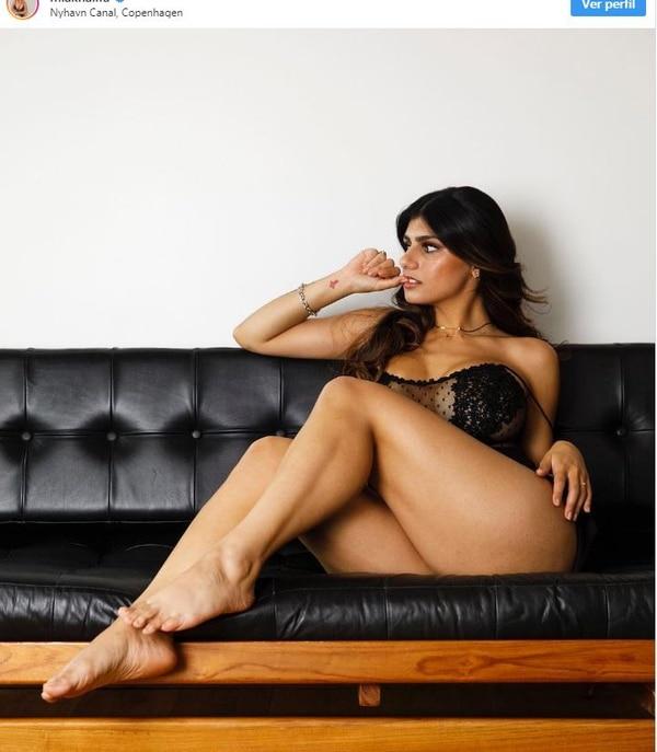 La exactriz porno Mia Khalifa ya no quiere que sus películas estén en internet. Instagram