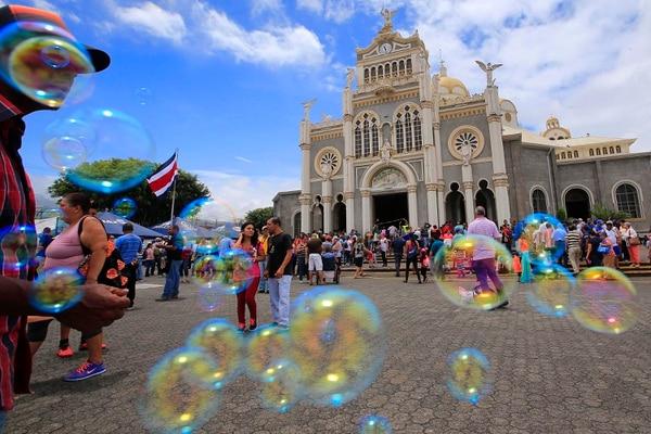 Del 23 al 31 de junio se celebrará la novena con las diferentes diócesis del país. Foto Rafael Pacheco.