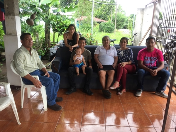 La familia de Marcia asegura que luchará por los dos hijos que les dejó. Foto: Reiner Montero.