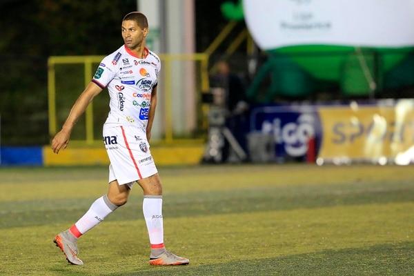 Álvaro Saborío cerrará su carrera en Alajuelense . Foto: Rafael Pacheco