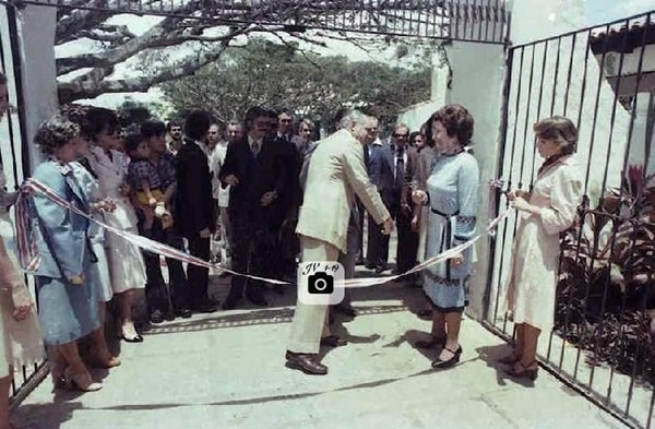 El Pueblo fue inaugurado por el entonces presidente Daniel Oduber. Foto: Cortesía.