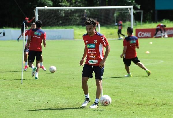 Christian Bolaños pidió por falta de ritmo no ser tomado en cuenta para cuartos de Copa Oro. Foto Rafael Murillo