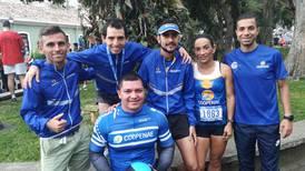 Cientos de atletas pasaron por San José en una pura carrera