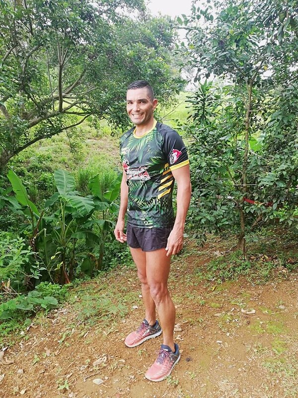 Juan Carlos Bonilla Castro en algún momento fue gordo, pero ahora es disciplinado y ama el ejercicio. Foto: Tomada de facebook