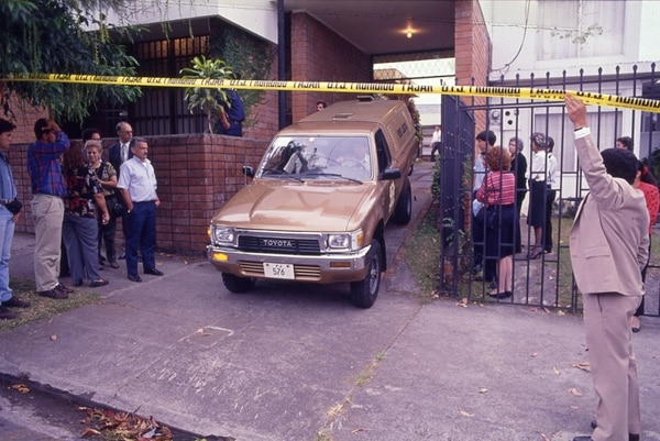 Dentro de la casa de la familia quedaron manchas de sangre que le permitieron al OIJ dar con los responsables. Fotos: Archivo GN