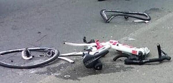 Mariana Rodríguez perdió la vida mientras hacía deporte con su bicicleta. Foto: Cortesía LT