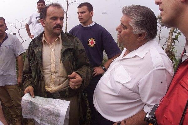 La zona donde se creía que cayó la avioneta era muy extensa pero la intuición permitió que la encontraran. Foto LN 2001