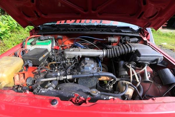 El motor de Humabi es de 1600 cc. Foto: Rafael Pacheco