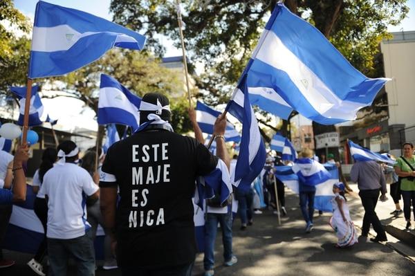 Los nicaragüenses están hartos del régimen de Daniel Ortega. Fotos Melissa Fernández