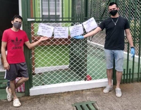 Los muchachos agradecen todas las ayudas que les dieron cuando estaban enfermos. Foto: César Gutiérrez