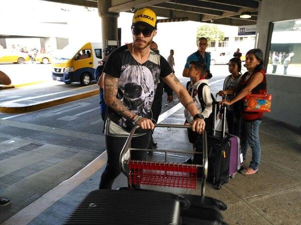 Moura llegó al país en julio pasado.