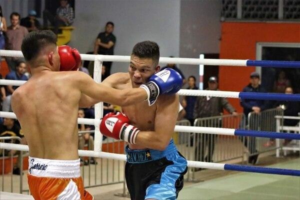 """Eduardo """"Viyo"""" Sánchez es un boxeador costarricense estilo olímpico. Foto: Cortesía."""