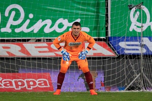 Dany Carvajal, ahora en el Albacete de España, es uno de los porteros a los que McDonald le ha hecho más goles. Rafael Pacheco.
