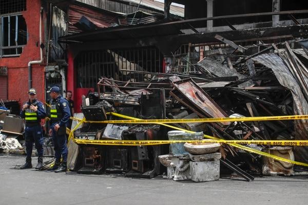 Las autoridades analizaron el sitio durante 8 horas y ahora solo esperan los resultados forenses. Fotografía: José Cordero
