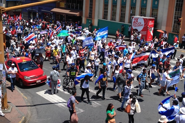 Los ticos solemos echarle la culpa a los nicaragüenses de todo lo que pasa. Foto: Archivo.