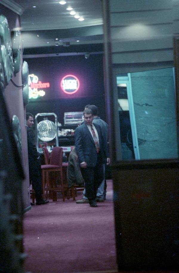 Triple homicidio ocurrido en el casino del hotel Presidente en abril de 1997. Foto Archivo.