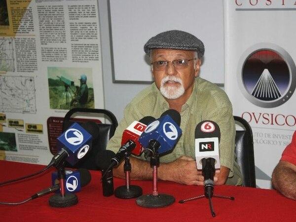 Marino Protti dice que el terremoto que se espera podría ser de entre 7,2 y 7,4 grados. Foto: Grupo Nación.