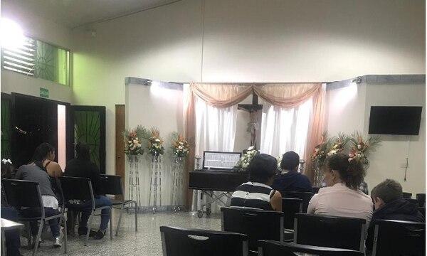 El pequeño fue velado anoche en Santa Ana y será sepultado en Nicaragua. Foto: S.Coto